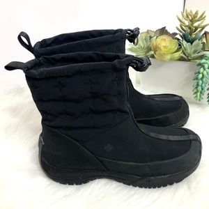COLUMBIA Erial 2 quilted waterproof snow boots 6